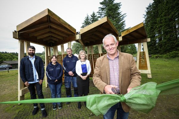 University and Trust partnership unveils new pavilion