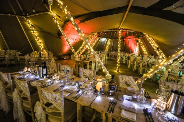 New Tipi Wedding Offering At Kielder