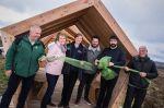 Students' designwork provides shelter for Northumberland visitors