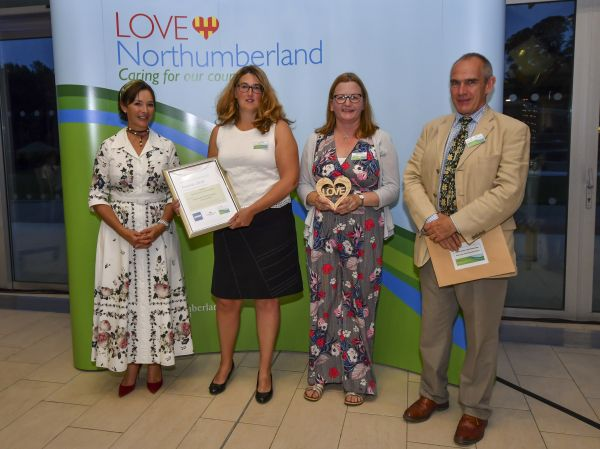 Water vole project scoops award